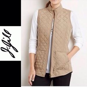 J. Jill Heritage Quilted Vest